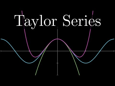 Taylor series | Chapter 11, Essence of calculus