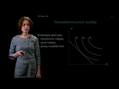 ИнЭИ Экономика Лекция №1.1 «Теория потребительского поведения»