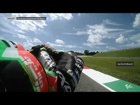 Aprilia Racing Team Gresini OnBoard: Gran Premio d'Italia Oakley