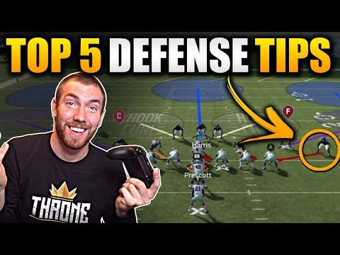 The Top 5 BEST Defense Tips -- LOCK UP The Run [Madden 20 Free Defensive Ebook Tips]