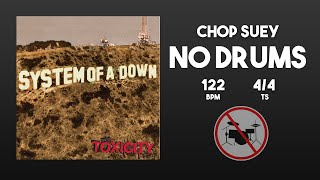 System Of A Down - Chop Suey .. Without Drums [Drumless Track] (Sin Bateria)