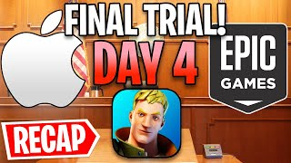 Fortnite vs. Apple Trial Day 4 Recap! - Epic Fights Back...