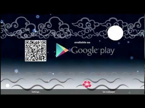 Video of Live Ink Wallpaper