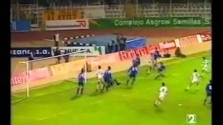Albacete 1 - Zaragoza 3. Temp. 92/93. Jor. 14.