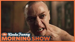 Glass Trailer 2 Reacts - The Kinda Funny Morning Show 10.11.18