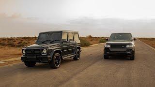 G63 AMG VS Range Rover Vogue Autobiography | Drag Race & Review