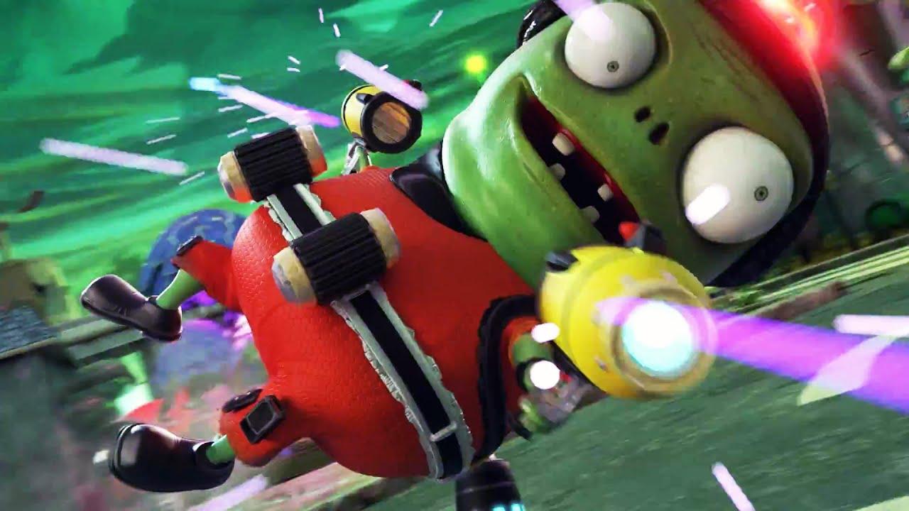 PLANTS VS. ZOMBIES Garden Warfare 2 Trailer [E3 2015] #VideoJuegos #Consolas