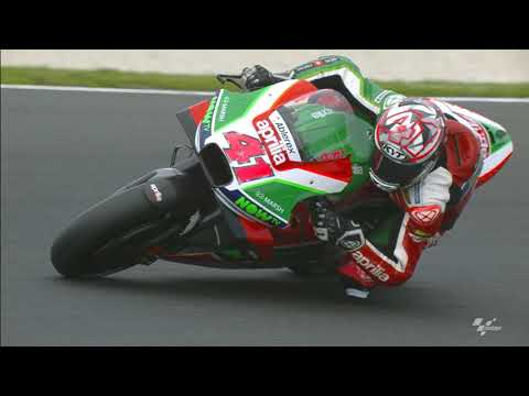 Aprilia in action: 2018 Michelin® Australian Motorcycle Grand Prix