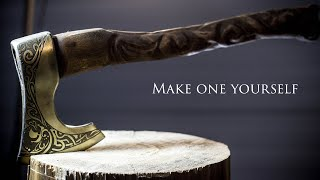 Making Viking Axe from the Cheapest Bought Axe