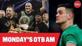LIVE: OTB AM | Andy Lee in Vegas, Fury-Wilder II, Quinlan on England smashing Ireland, GAA recap, PL