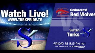 Girl's Basketball - Sultan vs. CedarCrest