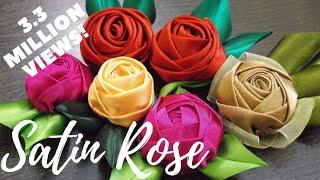 D.I.Y. Handmade Satin Rose - Tutorial | MyInDulzens
