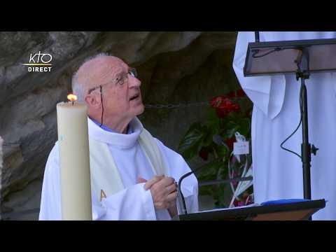 Chapelet du 8 juillet 2020 à Lourdes