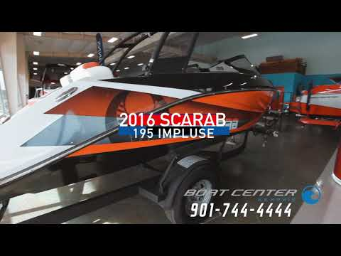 2016 Scarab 195 Impulse in Memphis, Tennessee - Video 1