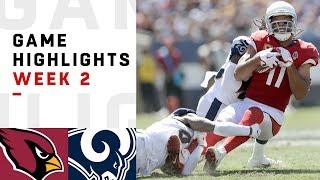 Cardinals vs. Rams Week 2 Highlights | NFL 2018