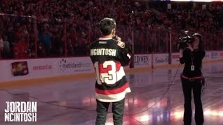 Jordan McIntosh - Star Spangled Banner & O Canada - Senators vs. Predators @ Canadian Tire Centre!