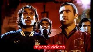 Match in Hell with Cantona, Ronaldo, Kluivert, Campos Nike(Good VS Evil)