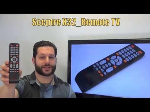 Sceptre X32_REMOTE TV Remote Control