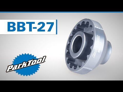 Parktool BBT-27 Krankboks Aftrækker video