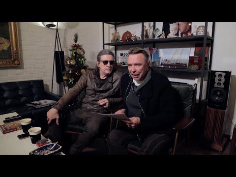 Гарик Сукачев и Сергей Галанин. Трансляция прямого эфира Instagram от 25.12.19