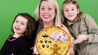 Pizza Challenge med Jultema | Sofie, Melody och Chanell