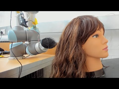 Video Friday: A Robot to Brush Your Hair