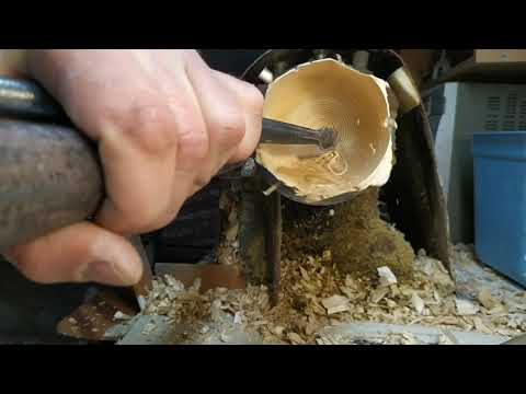можно ли точить дуб внутри крючком? как тебе такое?