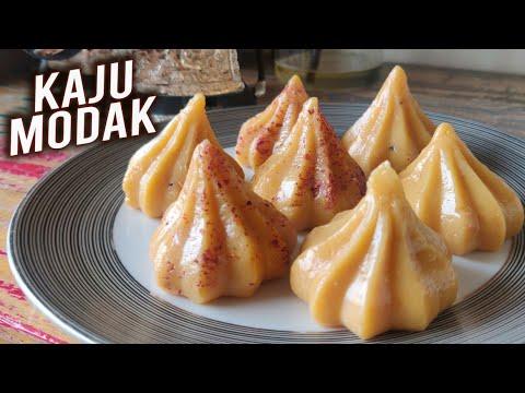 Kaju Modak Recipe | Ganesh Chaturthi Special – Kesar Kaju Modak| Easy Modak Recipe By Varun Inamdar