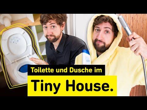 So funktioniert ein Tiny Badezimmer | Hygiene im Tiny House