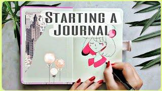 Starting a Journal  Journal Ideas  Daily Journal Ideas  Journal First Page Ideas  artoonish