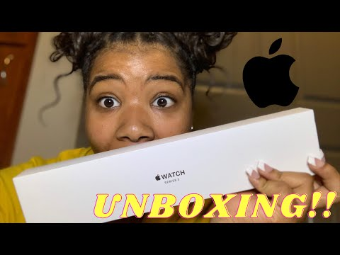 UNBOXING!! Apple Watch Series 3 !!