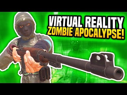 LOW AMMO IN THE ZOMBIE APOCALYPSE IN VIRTUAL REALITY - Arizona Sunshine VR (Funny Moments)