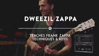 Dweezil Zappa Teaches Frank Zappa's Improvisation Techniques | Reverb Interview