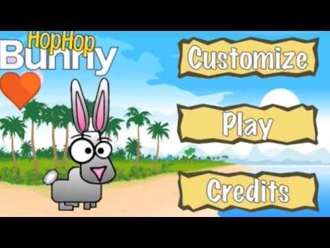 Video of Hop Hop Bunny, the platformer