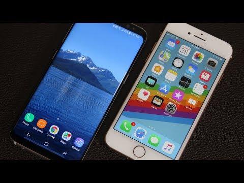 iPhone 8 vs Samsung Galaxy S8 Full Comparison