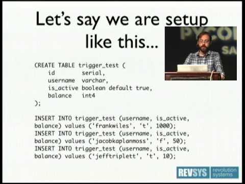 Image from Putting Python in PostgreSQL