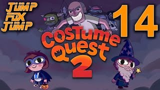 Costume Quest 2 100% Playthrough - Ghost Costume - PART 14