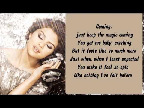 Selena Gomez & The Scene - Off The Chain Karaoke / Instrumental with lyrics on screen