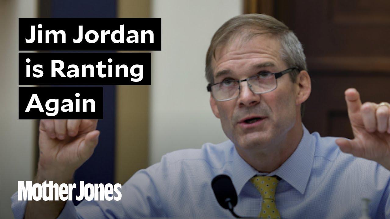 Jim Jordan is Ranting Again 🙄 thumbnail