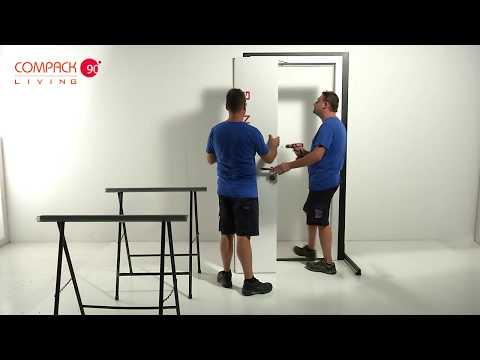 Porta a libro Compack 90°/180° - Video di Montaggio / Installation door Compack 90 - 180