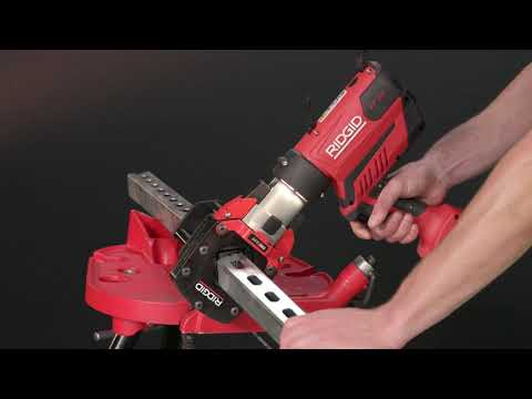 RIDGID® StrutSlayr™ Strut Shear Head: Now Compatible with RP 350 Press Tool