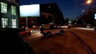Полиция перекрыла ул. Депутатскую