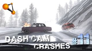 BeamNG.Drive - Dash Cam Crash Compilation #11