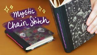DIY Chain Stitch Bookbinding Tutorial | Sea Lemon