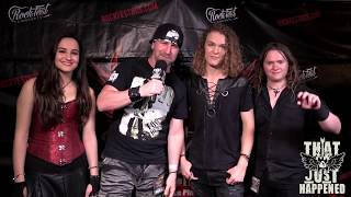 Mason Pace Band - Live Interview at RockFest 80s
