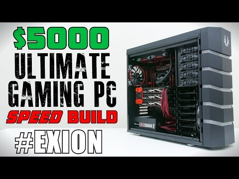 $5000 Ultimate Gaming PC - Time Lapse Build