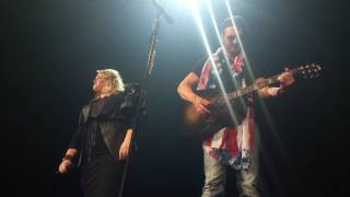 Eric Church & Joanna Cotten - Over When It's Over/Like Jesus Does (Acoustic) Jacksonville, FL 5/5/17