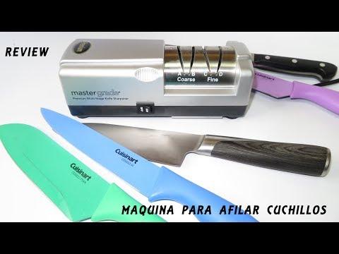 Evaluacion de maquina para afilar cuchillos (Review )