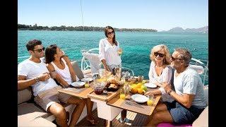 Неделя на яхте по островам Греции.