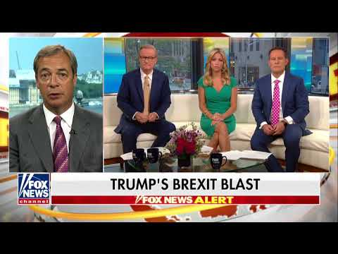 'They Simply Cannot Believe It': Farage Says Trump Dropped 'Bombshell' on UK Establishment